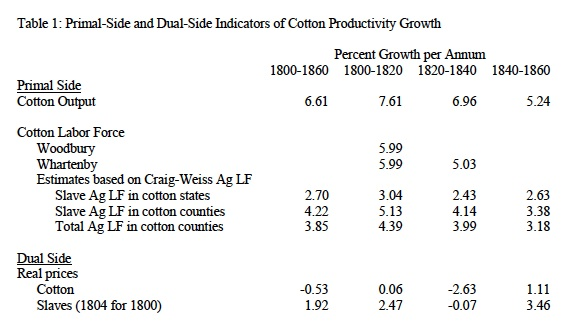 cotton productivity