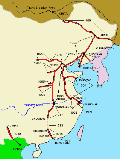 KCRC_early_railway_network_of_China